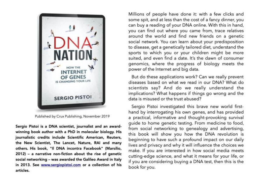 DNA NATION Flyer